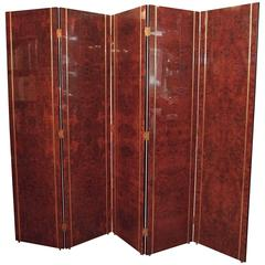 High Style Spanish Art Deco Wooden Screen