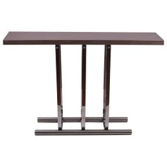 Rohde for Troy Sunshade Chrome Console Table