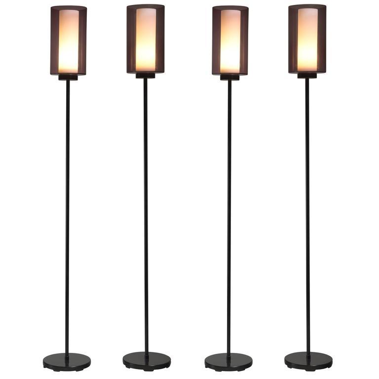 Tapio Wirkkala Set of Iittala Floor Lamps, Finland, 1950s