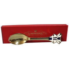 Christmas Spoon by A. Michelsen from 1991
