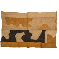 African Textile Kuba Zaire, Suitable for Table, Pillow or Wall Hanging