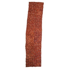 African Textile Kuba, Zaire, suitable for table or Wall Hanging
