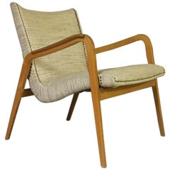 Beautiful Lounge Chair with Laminated Wood Base