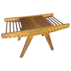 Nice Woodworkers Coffee Table with Magazine Storage