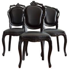 'Smoke' Dining Chairs by Maarten Baas for Moooi