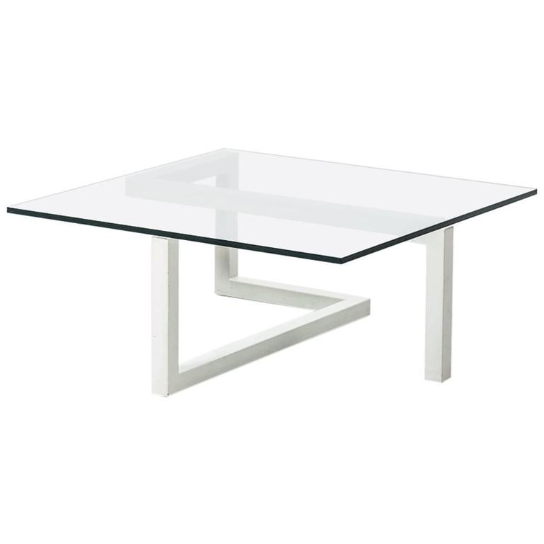 Geometric gelderland coffee table at 1stdibs for Geometric coffee table