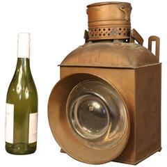 19th Century Copper Signal Lanterns