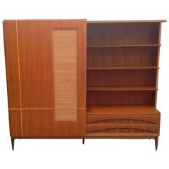 Italian Bookcase Cabinet