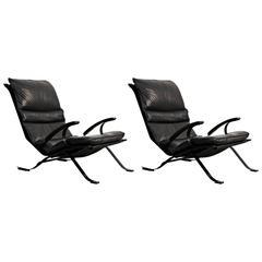 Pair of Pep Bonet Tuman Lounge Chair for Levesta, circa 1969