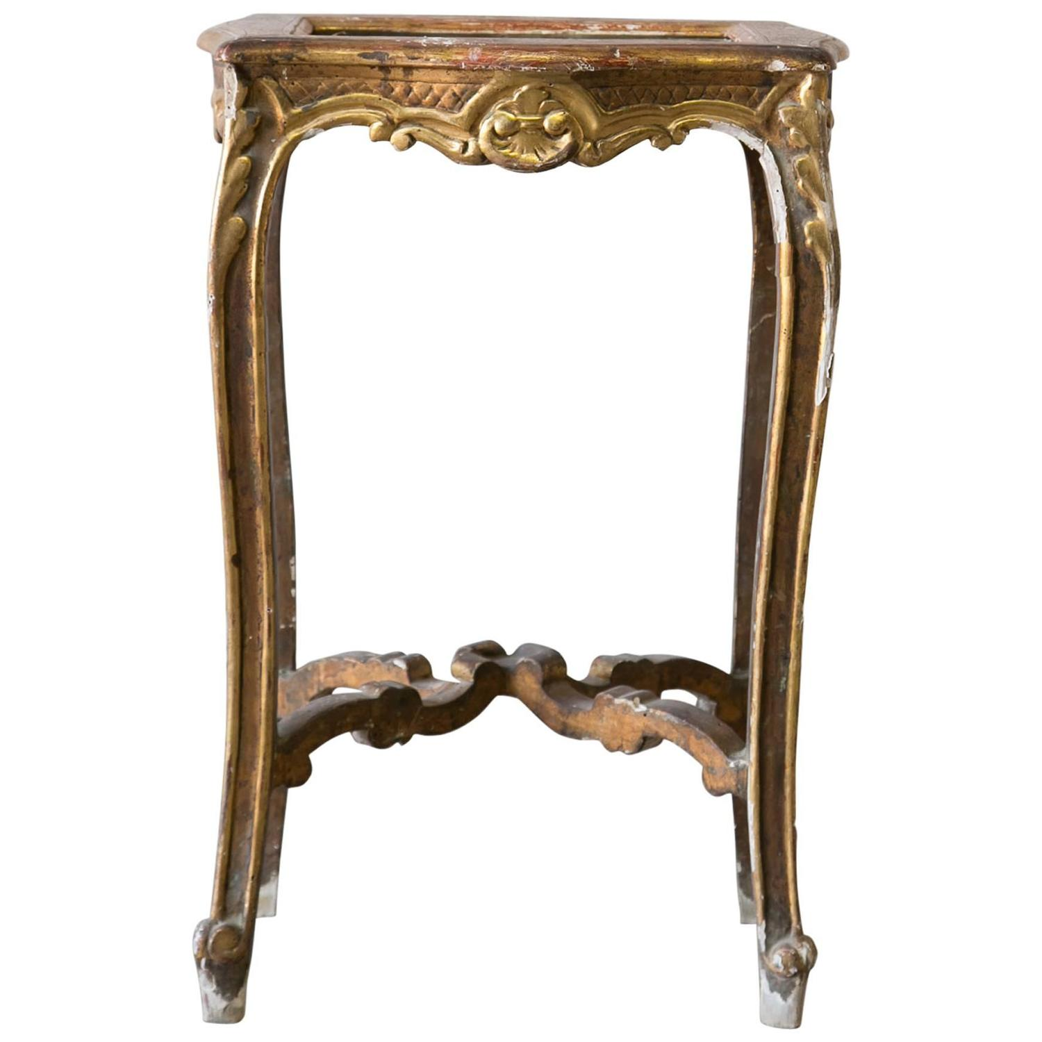 Vintage louis xv style side table at 1stdibs - Table louis xv ...