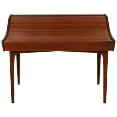 Rare Walnut Roll-Top Desk by George Mulhauser