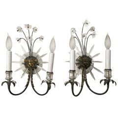Pair of Antique Regency Style Wall Sconces