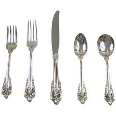 Grand Baroque Flatware Set by Wallace Sterling