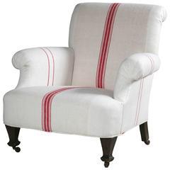 19th Century English Club Chair