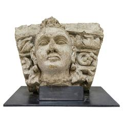 Museal Stone High Relief Gandhara