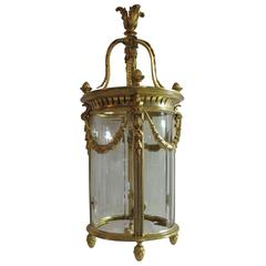 French Gilded Lantern