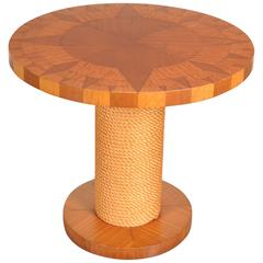 Side Table in the Style of Adrien Audoux and Frida Minet, France, circa 1960