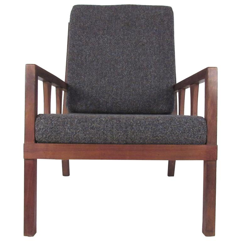 American Mid-Century Modern Arm Chair For Sale