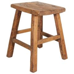 Tall Rustic Stool or Side Table