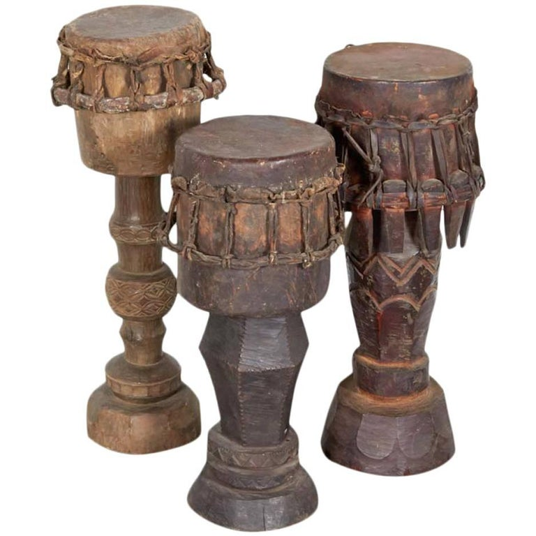 Sumba Ceremonial Drums For Sale
