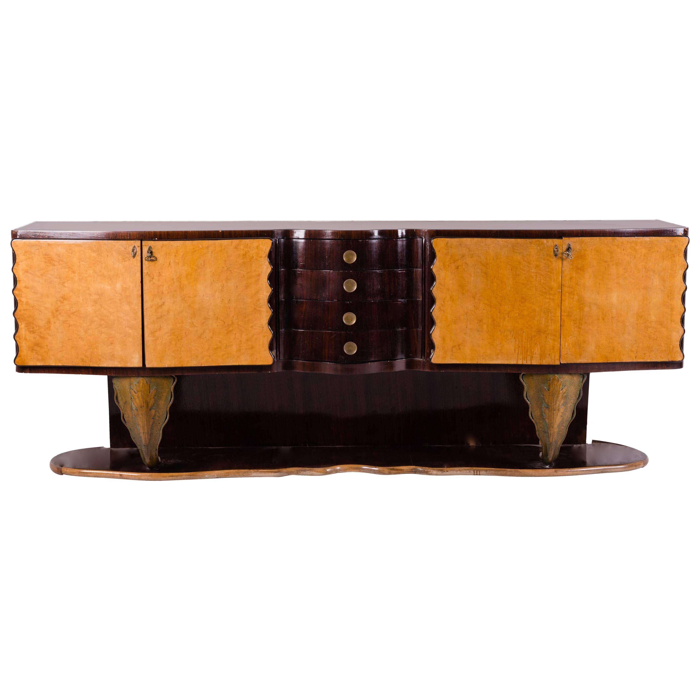 Italian Art Deco Sideboard by Pier Luigi Colli, 1930s