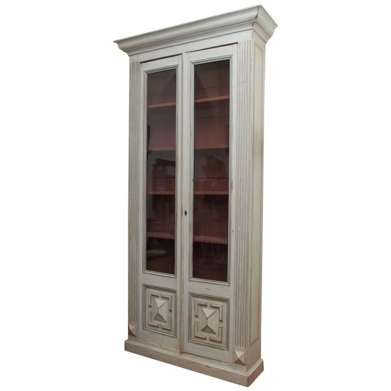 Pair of Louis XVI Bookcases For Sale