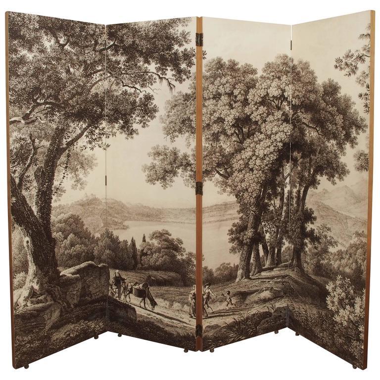1950s Folding Screen