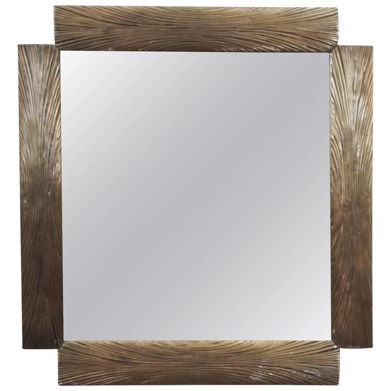 Mid-Century Modern Mirror, Italian