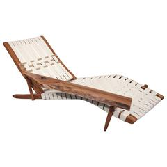 Rare, Early Version, Long Chair by George Nakashima, 1952