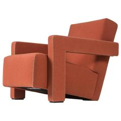 """""""Utrecht"""" Lounge Chair by Gerrit Thomas Rietveld for Cassina"""