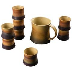 Ceramic Set by Franco Bucci for Laboratorio Pesaro