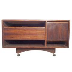 Unique Mid-Century Rosewood Cabinet