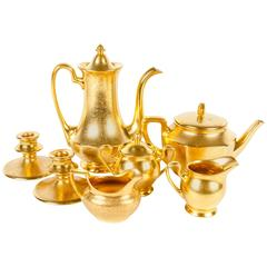 Vintage Gold Tea and Coffee Service