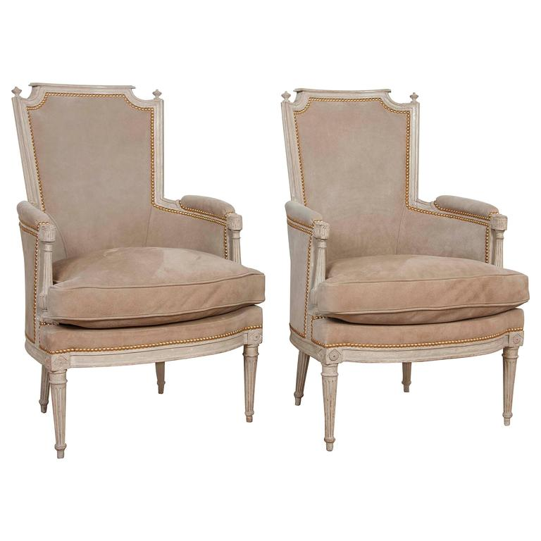 Pair of Louis XVI Style Chairs 1Pair of Louis XVI Style Chairs For Sale at 1stdibs. Louis Xvi Style Furniture For Sale. Home Design Ideas