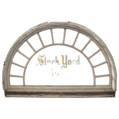 Entry Transom from the Stock Yard Inn, Chicago
