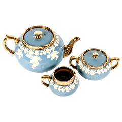 Vintage English Glazed Ceramic Tea Service