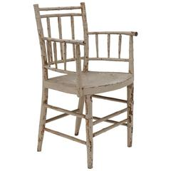 Painted Federal Armchair