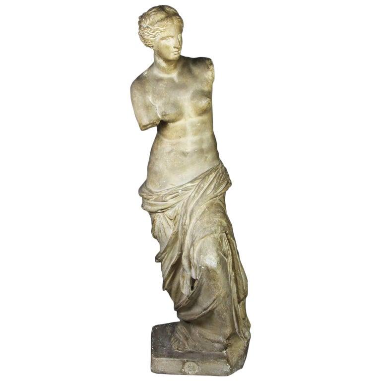 Caproni Brothers Plaster Casting of Venus De Milo For Sale