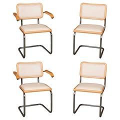 "Set of Four Marcel Breuer ""Cesca"" Chairs"