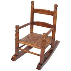 Early 20th Century Salesman's Sample Miniature Rocking Chair