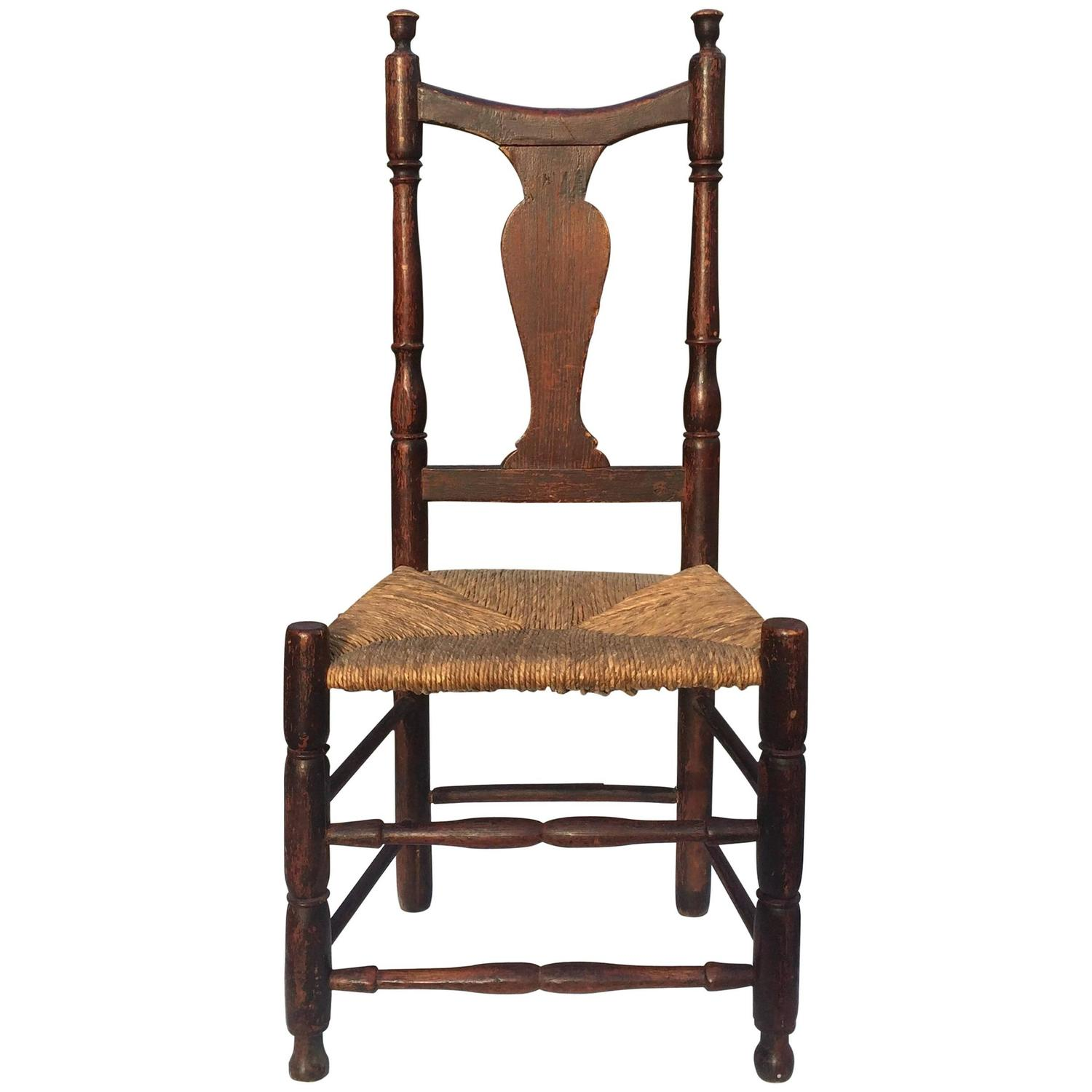 Yoke Back Queen Anne Side Chair Connecticut Circa 1760 For Sale At 1stdibs