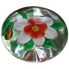 Ancient 19th Century Baccarat Paperweight