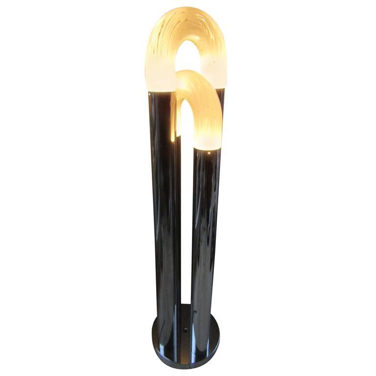 Floor Lamp Italy 1960s by Carlo Nason for Mazzega