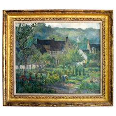 Impressionist Oil Painting, C. Cundall, 1926