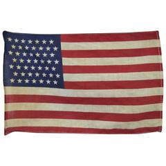 Small Printed Cotton 49 Star Flag