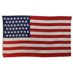 45 Star Printed Cotton Parade Flag