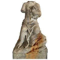 Antique Headless Sculpture
