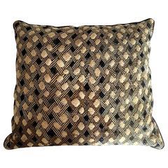 Antique Kuba Cloth Pillow