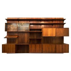 Rio Palisander Shelving System by Poul Cadovius