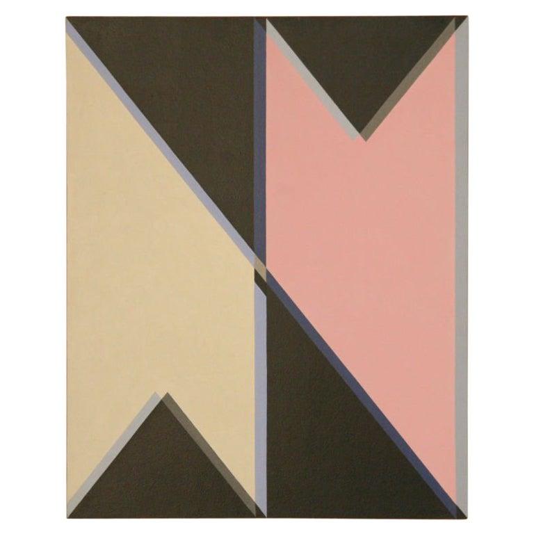 John Barbour Hard Edge Painting, 1966